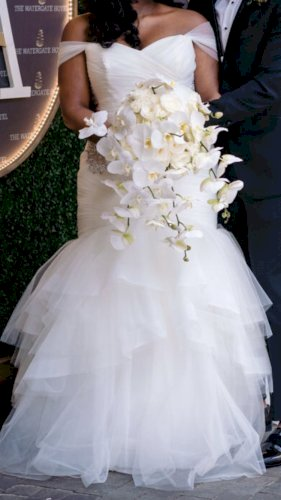 Custom Enzoani Ivan Wedding Dress