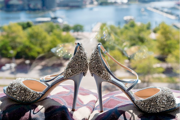 "Luxury Bridal Shoes - for your ""Something Blue"""