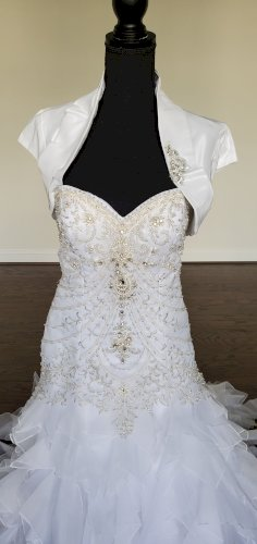 Fit & Flare Wedding Dress from Mary's Bridal