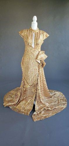 Gold Sequin Mermaid Dress