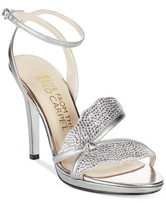 E! Live at the Red Carpet Helena Evening Heels Size 10