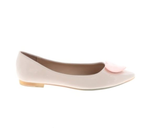 Dolce by Mojo Moxy Heart Ballet Flats Size 8.5