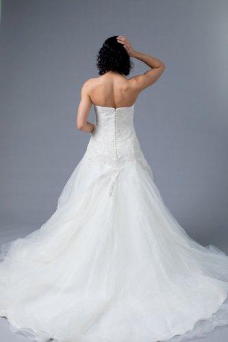 La Sposa A Line Wedding Dress Ivory Size 8