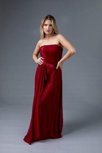 Ever Pretty Burgundy Dress